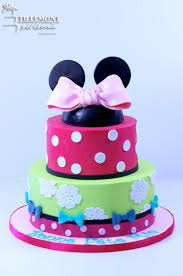 childrens cakes colorful minnie mouse childrens cakes patisserie tillemont