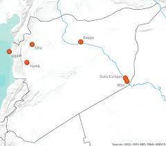 Map Of Syria And Surrounding Countries by Ancient History Modern Destruction Assessing The Status Of