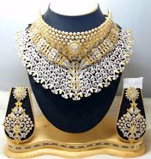 diamond sets images american diamond jewelery set buy american diamond jewellery