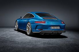 porsche graphite blue gt3 new touring package for 2018 porsche 911 gt3 renders the 911 r