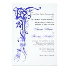 Royal Blue Wedding Invitations Royal Blue Wedding Invitations U0026 Announcements Zazzle Canada
