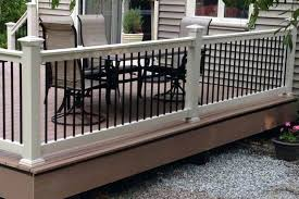 vinyl stair railing handrails for stairs handrail yardsmart rail