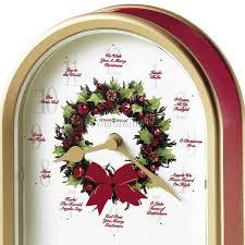 howard miller musical clock carols of 645 424