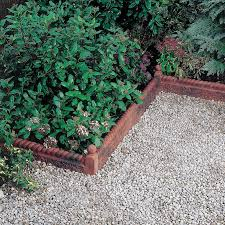 Patio Edging Options by Paving Edging Antique Red L 600mm H 50mm Departments Diy At B U0026q