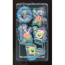 spongebob squarepants ornaments set of 5