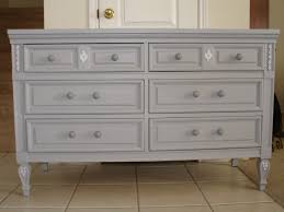 Master Bedroom Dresser Awe Inspiring 6 Drawer Storage Gray Polished Modern Bedroom