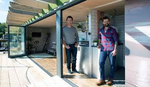 george clarke u0027s amazing spaces a floating home made from shipping