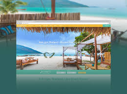 website design development for resorts and hotels