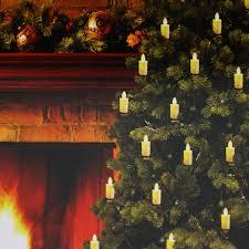 luminara tree candles set of 5 candles 6 foot length