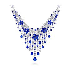 diamond sapphire necklace images Carissa necklace sapphire and diamond graff png