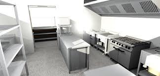 kitchen gorgeous restaurant kitchen layout 3d brilliant free