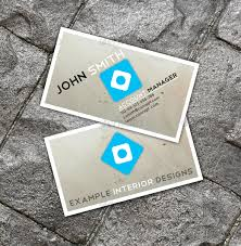 clean interior design business card by tfngwena graphicriver