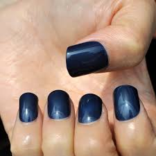 online get cheap dark blue fake nails aliexpress com alibaba group