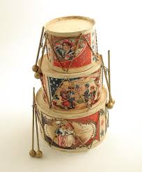 4th of july decoration vintage style patriotic drums bethany lowe