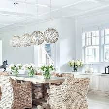 Hanging Pendant Lights Over Dining Table by Dining Table Standard Height Pendant Light Over Dining Table