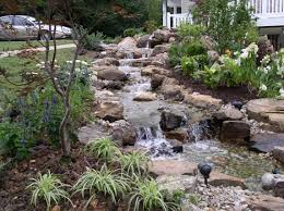 landscaping waterfalls or fountain kits garden landscaping