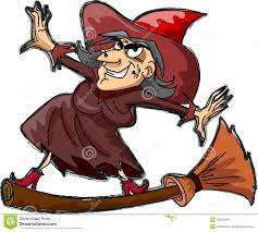 halloween vector free cartoon witch happy halloween vector royalty free stock images