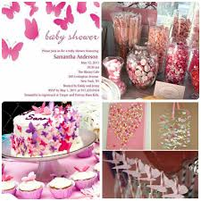 baby girl themes for baby shower baby shower themes for girl pink butterfly baby shower ideas