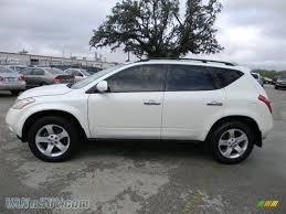 nissan murano white 2004 nissan murano se in glacier pearl white photo 8 224416