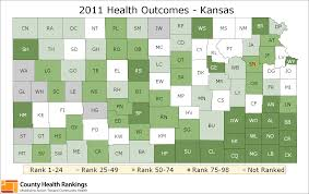 Kansas Counties Map Kansas Rankings Data County Health Rankings U0026 Roadmaps
