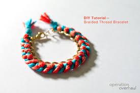 bracelet braid thread images Diy tutorial braided thread bracelet jpg