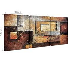 shop amazon com paintings phoenix decor abstract canvas wall art paintings on canvas for wall decoration modern painting wall decor stretched and framed ready to hang 3 piece canvas