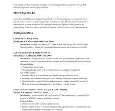 Resume Sample Call Center by Download Customer Service Resume Example Haadyaooverbayresort Com