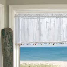 theme valances sand shell valances and tiers