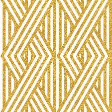 geometric striped ornament vector gold seamless patterns modern