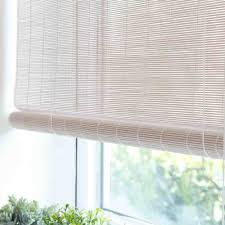 White Bedroom Blinds White Bamboo Blinds Dining Room Pinterest Bamboo Blinds