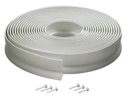 m d building products 3822 vinyl garage door top and sides seal