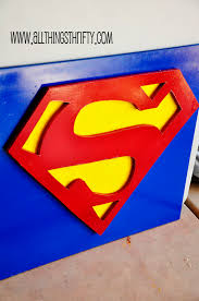Superman Bedroom Accessories by All Things Thrifty Home Accessories And Decor Superman Wall Decor