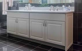 Refinish Vanity Cabinet Cute Refinish Bathroom Vanity Marble Countertop Finished Ideas