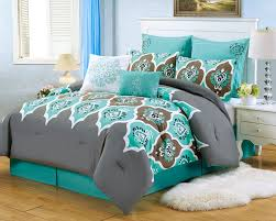 teal and gray bedroom ideas photos