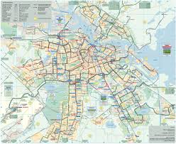Map Of Route 66 Map Of Amsterdam Bus U0026 Night Bus Stations U0026 Lines