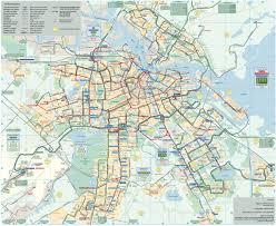 Ups Transit Map Map Of Amsterdam Bus U0026 Night Bus Stations U0026 Lines