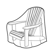 chair cover adirondack chair covers at brookstone buy now