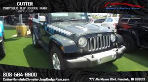 chief jeep wrangler 2017 new 2017 jeep wrangler sahara sport utility in honolulu wj17325