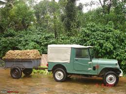jeep hauling trailer trailers for carrying jeeps u0026 farm purposes what how in india