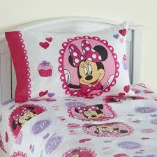Minnie Mouse Twin Comforter Sets Disney U0027s Twin Sheet Set Minnie Mouse Home Bed U0026 Bath