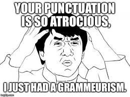 Punctuation Meme - jackie chan wtf meme imgflip