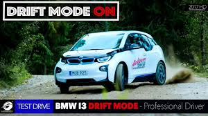 bmw rally bmw i3 gets dirty as professional rally racer runs it through the