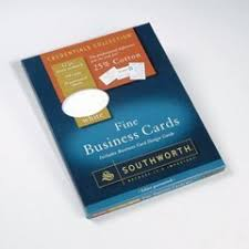 Ivory Business Cards Amazon Com Southworth 25 Cotton Business Cards Ivory 80 Lb
