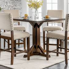 gracie oaks felix counter height dining table u0026 reviews wayfair