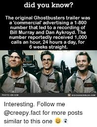 Meme Advertising - did you know the original ghostbusters trailer was a commercial