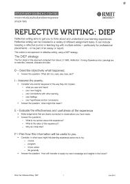 Reflective Writing Sample Essay Swmwritingspace U2013 The Writing Space