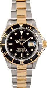 gold rolex oyster bracelet images Rolex submariner two tone 16613 oyster band jpg