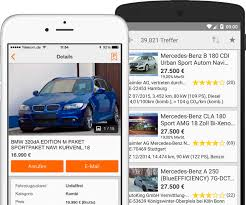 mobile de germany s vehicle marketplace search