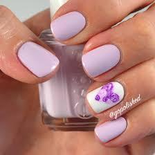nail design valentines purple rose heart youtube