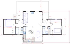 delightful single level log home plans 2 single level open floor